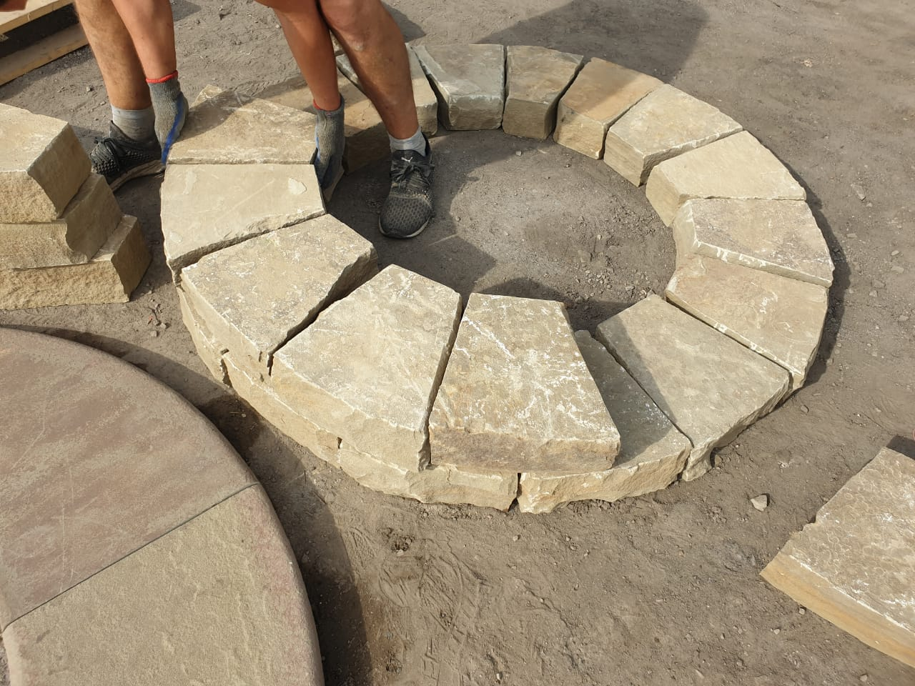 Костровище из бетона купить вид бетона с или л